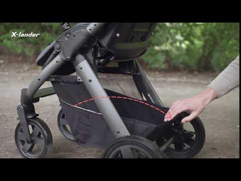 Детская прогулочная коляска X-Lander X-Pulse [184248]. Видео №1