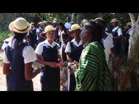 Nana Bonsam Kwaku in Jamaica for Fesitival teaching students