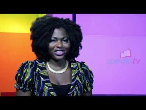 Susan Nwokedi Movie Producer on Talk-time Profiles @Speakstv Studio..Houston, Texas.