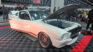 1965 Ford Mustang Fastback  At 2014 Detroit Autorama