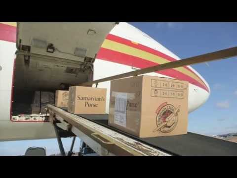 Operation Christmas Child - Northern Iraq Airlift of Joy