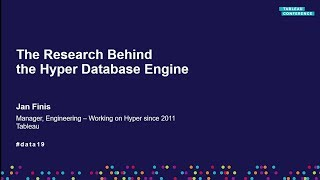 The Research Behind the Hyper Database