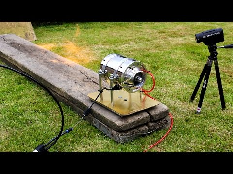 Micro Jet Turbine Engine - First Run!