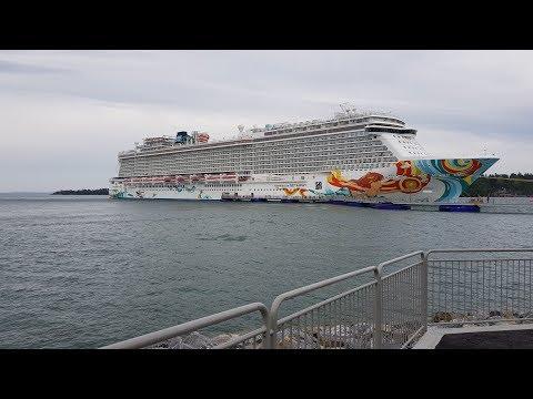Norwegian Getaway Baltic Capitals Cruise Summer 2017 in 360°