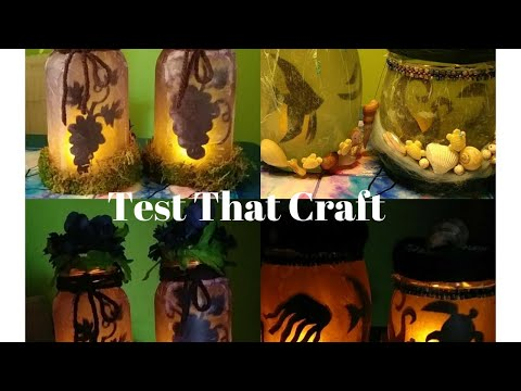 Test That Craft - Mason Jar Lights