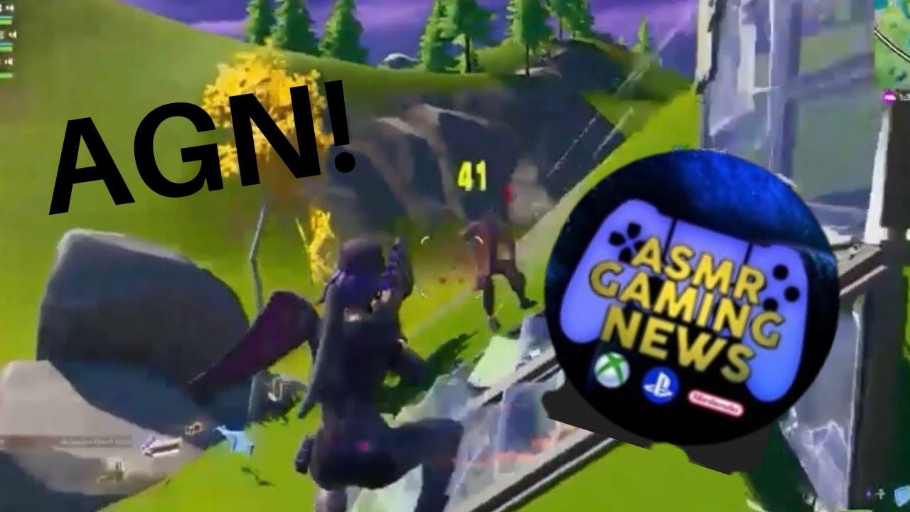 Playing with ASMR Gaming News!   Fortnite