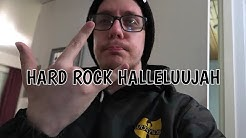 Näyttis rippaa? Hard rock halleluujah!