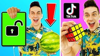 WE TESTED VIRAL TIKTOK LIFE HACKS AND CHALLENGES!
