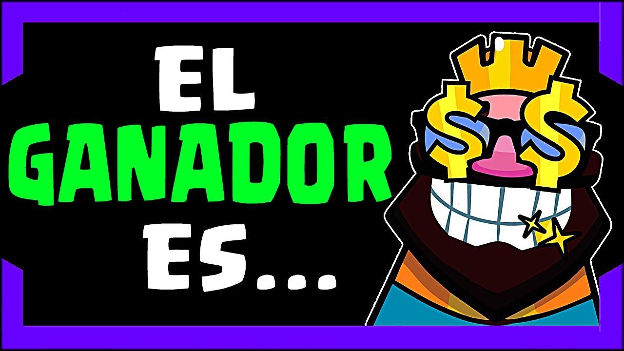 😍DOY A CONOCER EL GANADOR/A DEL PASS ROYALE de Clash Royale❤️¿LO HAS GANADO? - Clap