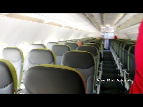 Voo TAP AIR PORTUGAL Airbus A319 não Consegue Pousar Lisboa to Madeira II Porto Santo II Lisboa