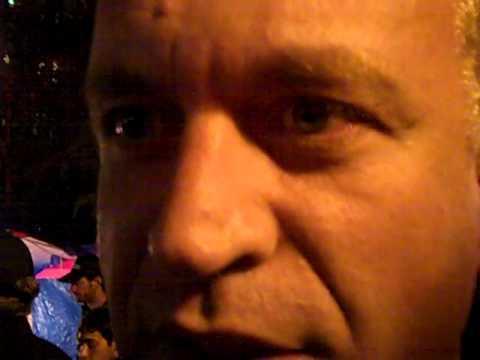 Goldi interviews Dylan Ratigan at #OccupyWallStreet