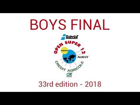 Henry TRUMP (GBR) vs. Kaylan BIGUN (USA)- Open Super 12 Auray Tennis - Boys Final