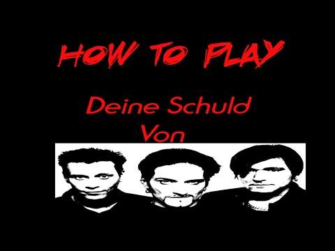 How To Play #1 Die Ärzte Deine Schuld