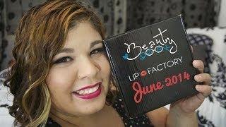 Lip Factory June 2014 Unboxing / Reveal Thumbnail