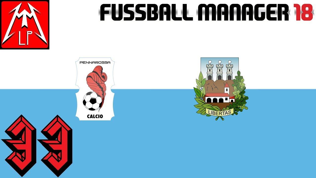 Topspiel Pokal Pennarossa Libertas 33 San Marino Fussball Manager 18 Fm Zocker Let S Play