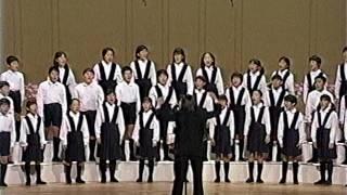 花と少女(長崎南山小学校)