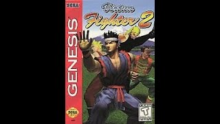 Virtua Fighter 2 Sega Genesis (MegaDrive) Kage Walkthrough