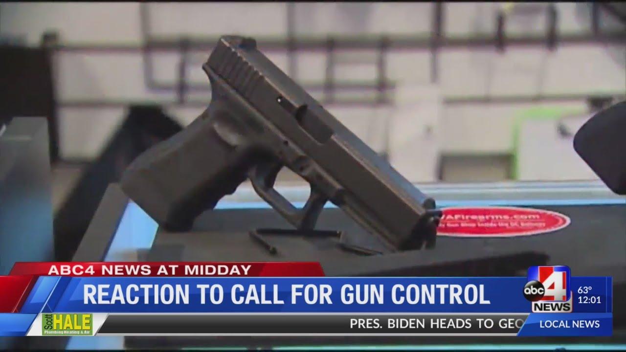 Utahns react to the President calling to tighten gun control laws