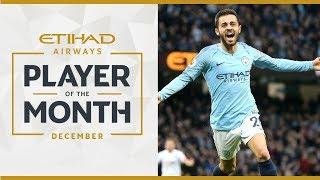 ETIHAD Player of the Month |  DECEMBER | Bernardo Silva