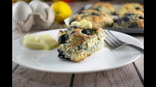 Blueberry-Pecan Scones