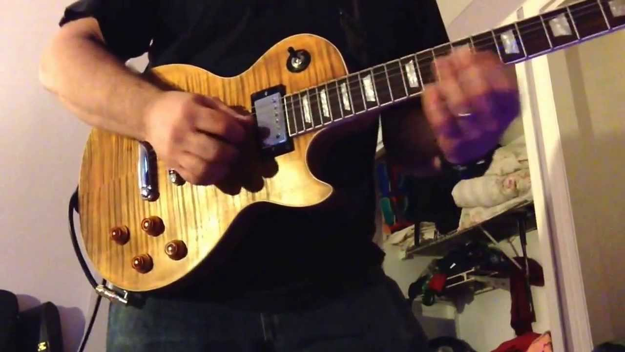 Les Paul Standard Raw Custom Kit Guitar With Cts 575k Pots Pio Tone Capacitors Also Gibson Wiring Further Caps And Pickups498t490r Youtube