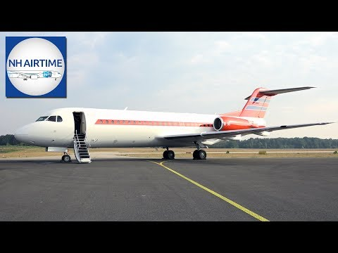 FOKKER 70 of the DUTCH GOVERNMENT; PH-KBX