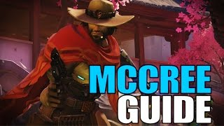 Overwatch McCREE Guide Deutsch (Overwatch Tutorial Tipps und Tricks)