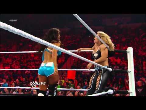 Layla & Santino Marella vs. Beth Phoenix & Ricardo Del Rio and Justin Bieber