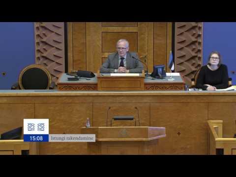 Riigikogu istung, 6. märts 2017