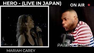 MARIAH CAREY - Hero (Live IN PARIS)-REACTION VIDEO