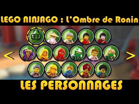 lego ninjago les personnages characters