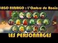 LEGO Ninjago : Les Personnages / Characters