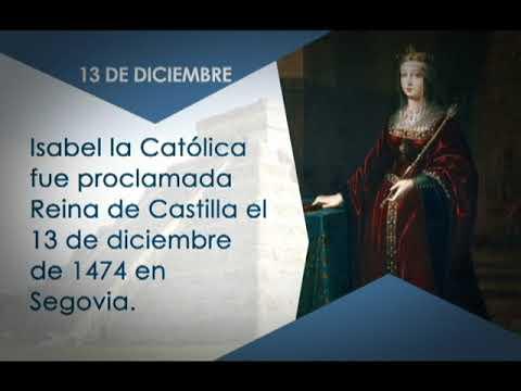 Sabías qué? El 13 de diciembre de 19474 Isabel la Católica fue proclamada  Reina 13/12/18 - YouTube