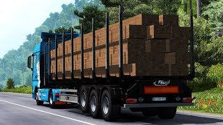 [ETS2 v1.36] Ownable log trailer Fliegl v1.0.2