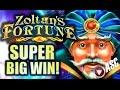 ★ SUPER BIG WIN! ★ ZOLTAN'S FORTUNE (Bally) MAX BET! Slot Machine Bonus