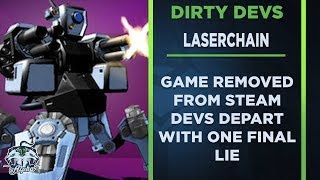 Dirty Devs: Laserchain departs Steam Storefront with one final lie