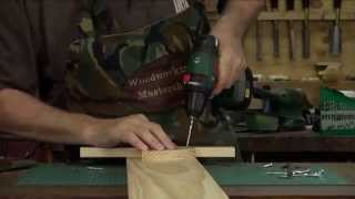 Fishing Rod Rack Pt2 Woodworking Masterclass With Steve Hay