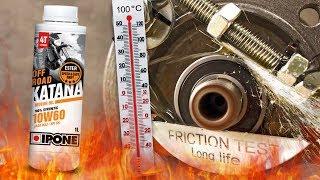 Ipone Katana Off-Road 10W60 4T Jak skutecznie olej chroni silnik? 100°C
