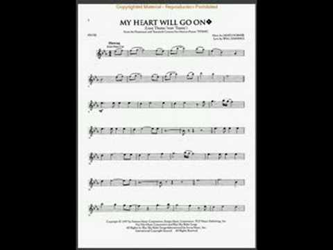 My Heart Will Go On Flute Sheet Music Free Pdf - my heart will go ...