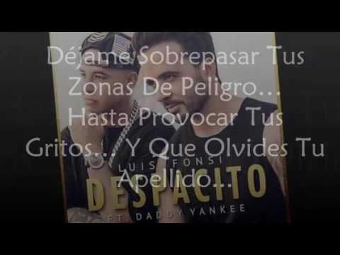 Despacito (Letra) - Luis Fonsi Ft. Daddy Yankee [2017] [DESCARGA]