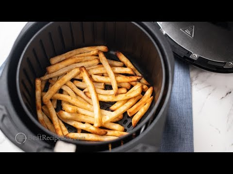 How long do you cook fries in an air fryer
