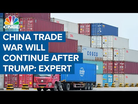 U.S.-China trade war isn't going to end with President Donald Trump: Expert