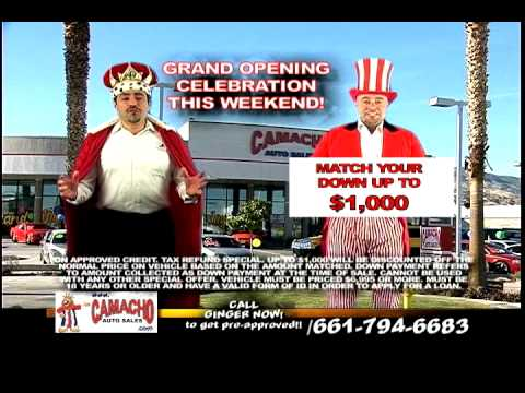 Camacho Auto Sales >> Grand Opening Camacho Auto Sales Now In The Palmdale Auto Mall