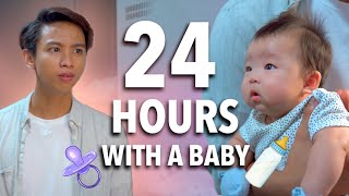 24hrs With My Friend's Newborn Baby