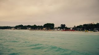 The Sandy Shore of the Turquoise Sea   Stock Footage - Videohive