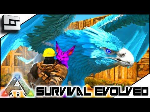 ARK: Survival Evolved - TAMING an Ice GRYPHON! ( Modded Ark Primal Fear ) E9
