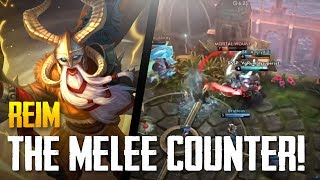 Vainglory - Road to Vainglorious [Gold]: THE MELEE COUNTER! Reim |CP| Jungle Gameplay