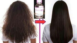 Glycerine Treatment for dry frizzy hair // Home Hair Care. Hair fall, dandruff #BeBeautifulChannel.