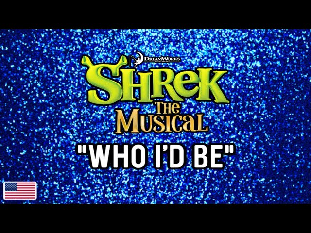 "Andrew Reyes - ""Who I'd be Be"" from Shrek the Musical"