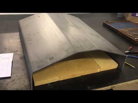 Steel Pizza Oven Build Part 1